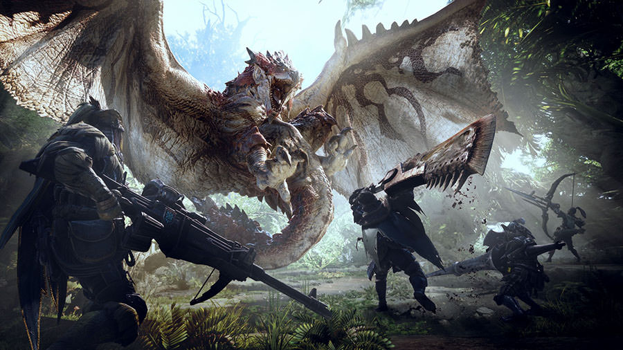 Monster Hunter World-بازی