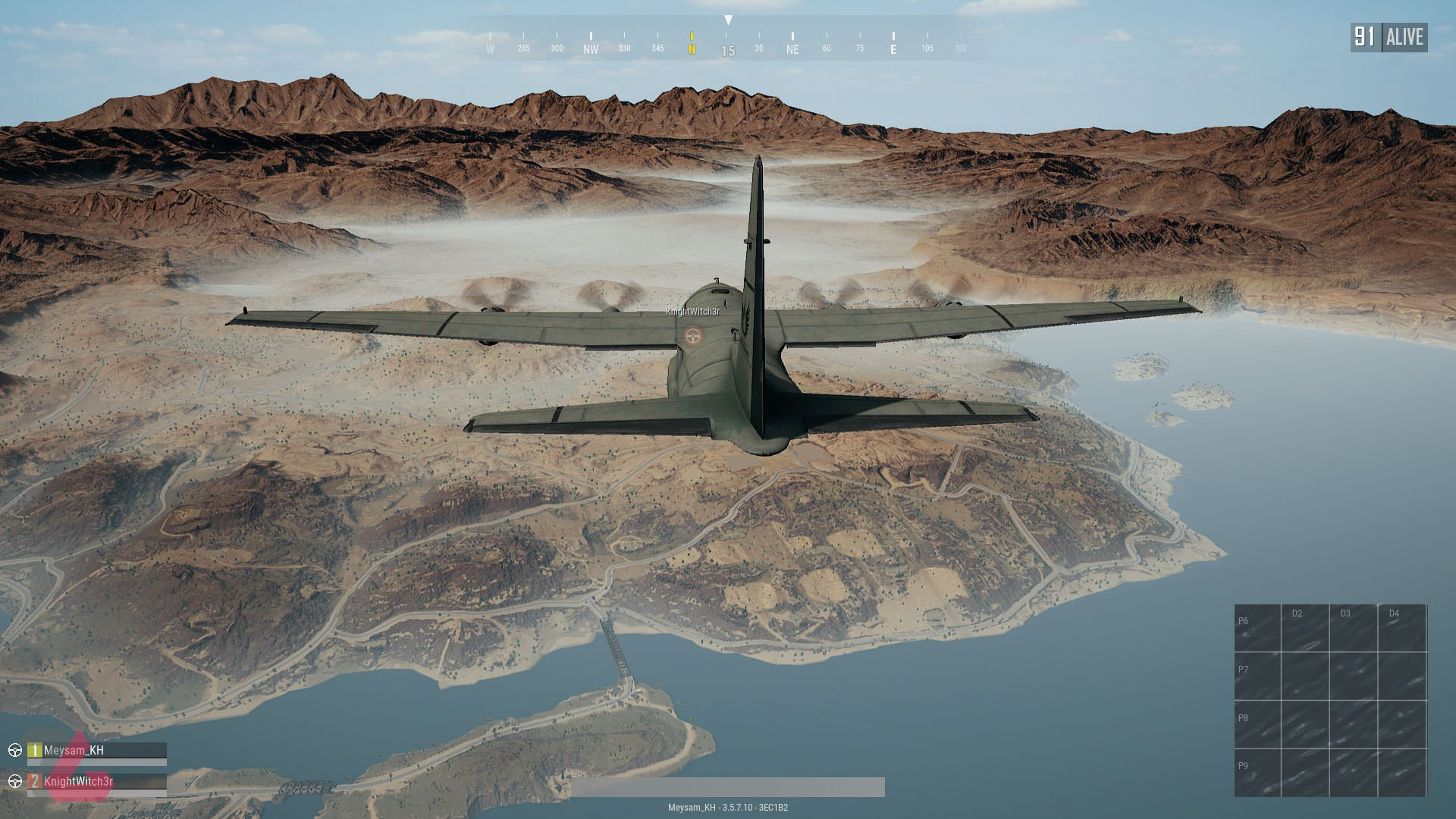 بازی Playerunknowns battlegrounds