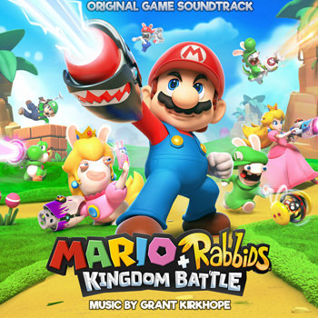mario + rabbids soundtrack cover