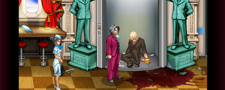 بازی Ace Attorney Investigations - Miles Edgeworth