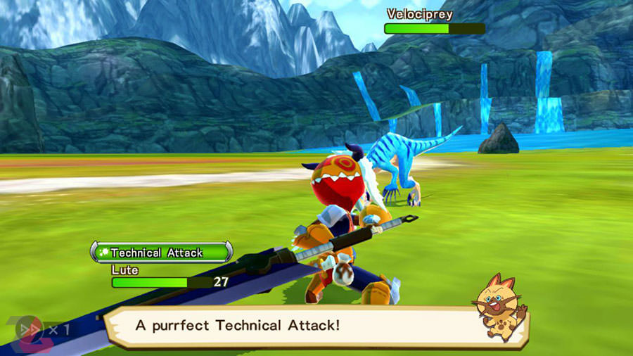 بازی موبایل Monster Hunter Stories