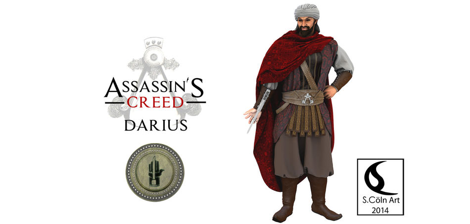 Darius Assassins Creed Brotherhood / داریوش