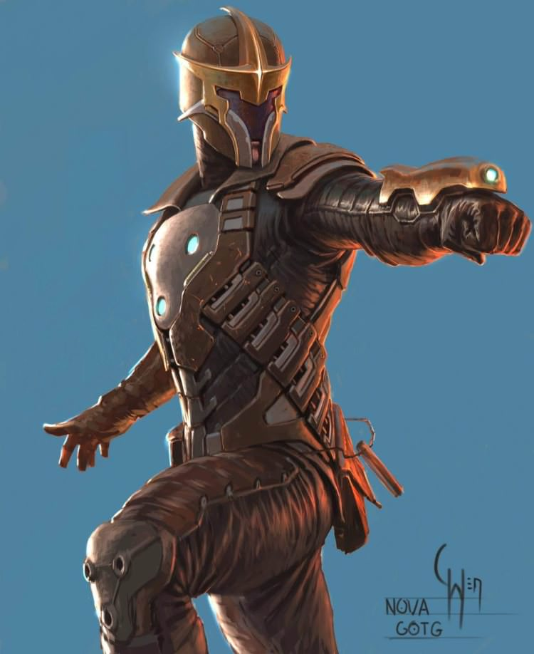 Nova Corps in Guardians of the Galaxy