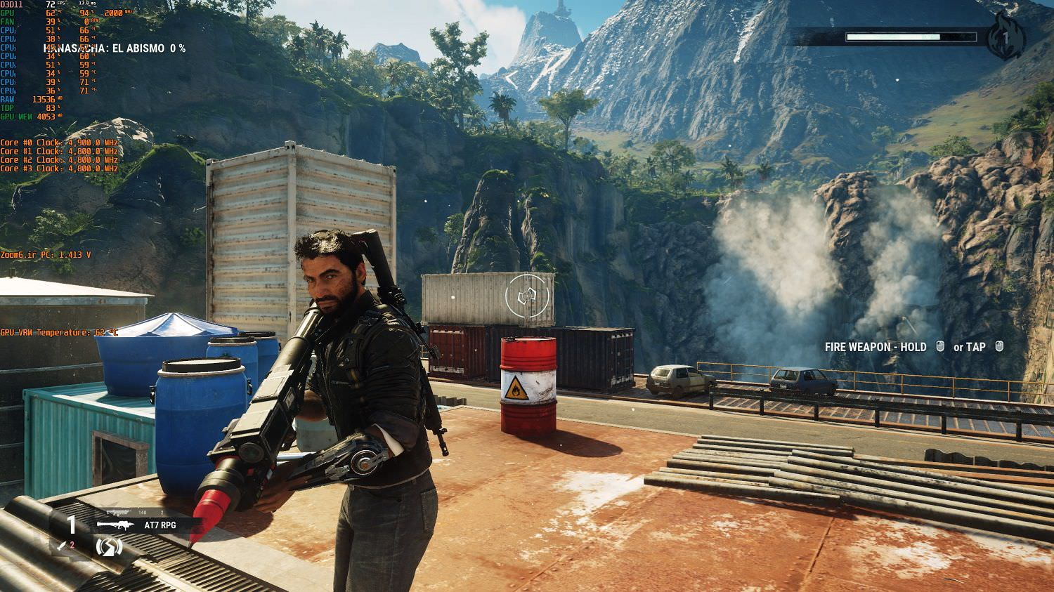 Just Cause 4 ingame Screenshot zoomg