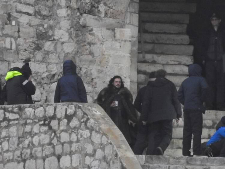 Game of Thrones Season 8 BTS