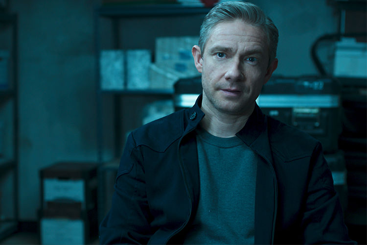 Martin Freeman in Black Panther