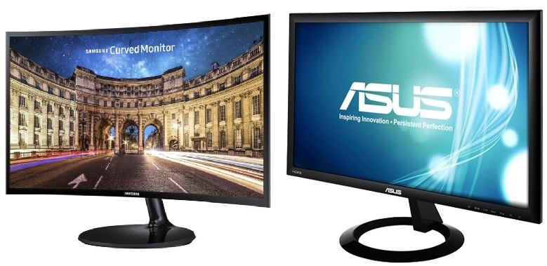 SAMSUNG and ASUS Monitor