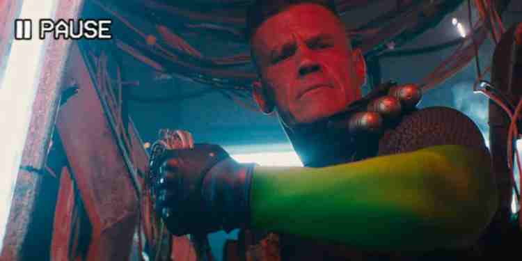 Cable in Deadpool 2