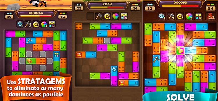 بازی Pandamino - A Color Slide Puzzle Adventure
