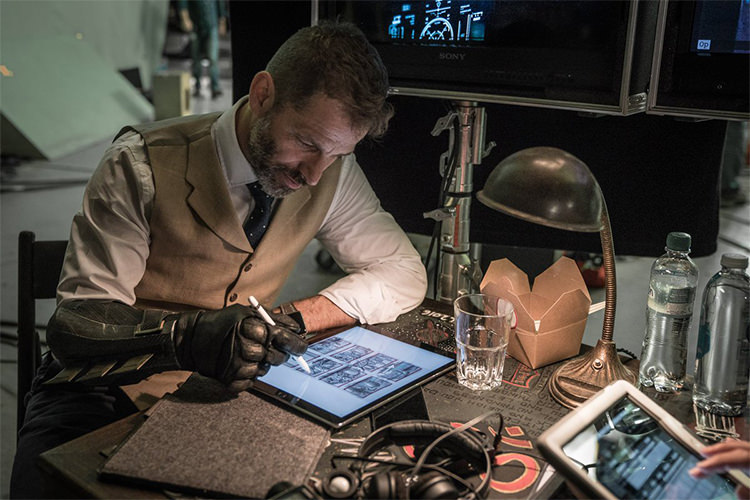 Zack Snyder in Justice League