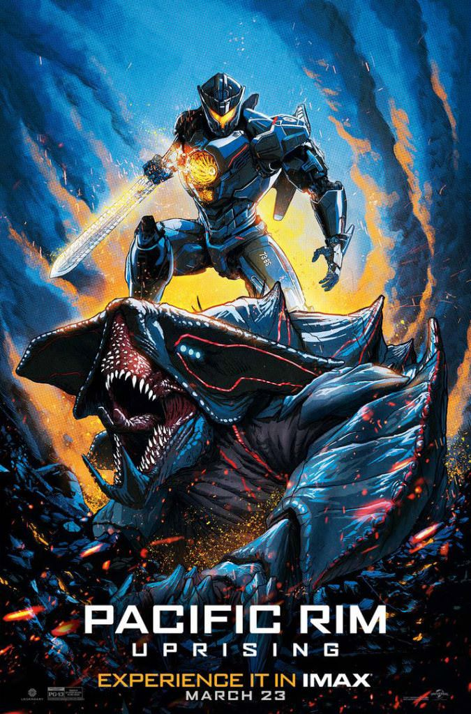 Pacific Rim: Uprising IMAX Poster