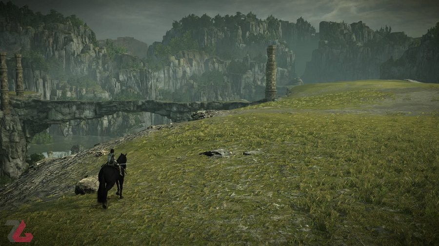 shadow of the colossus بررسی بازی