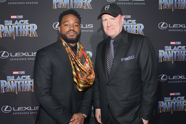Kevin Feige and Ryan Coogler