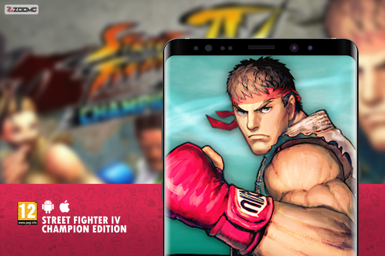 معرفی بازی موبایل Street Fighter IV Champion Edition