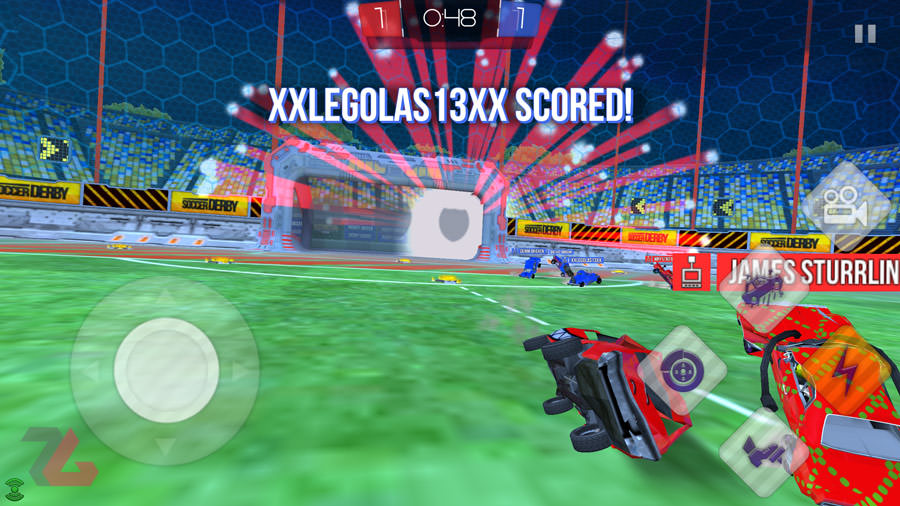 Rocket League Soccer