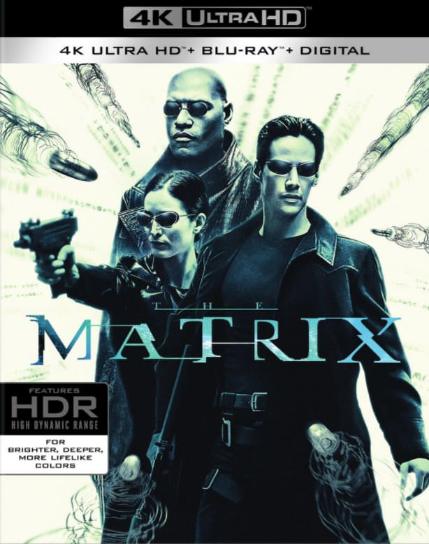 The Matrix 4K Blu-ray