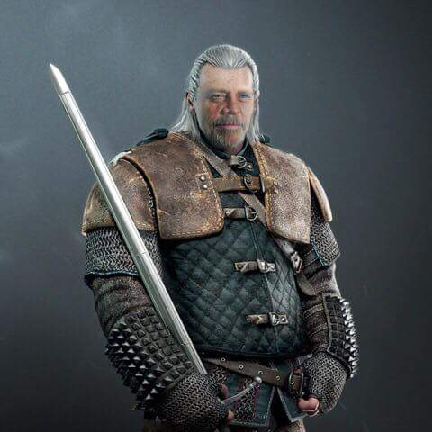 Mark Hamill in The Witcher