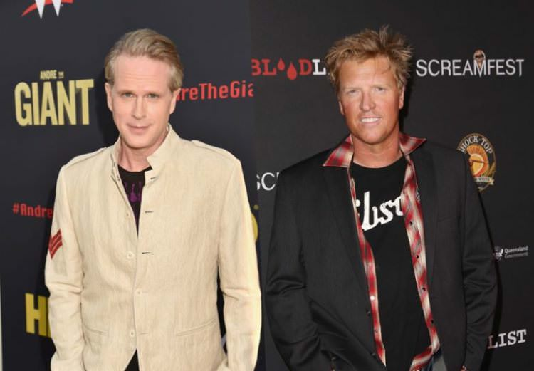 Cary Elwes and Jake Busey