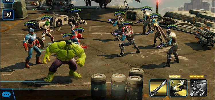 بازی MARVEL Strike Force