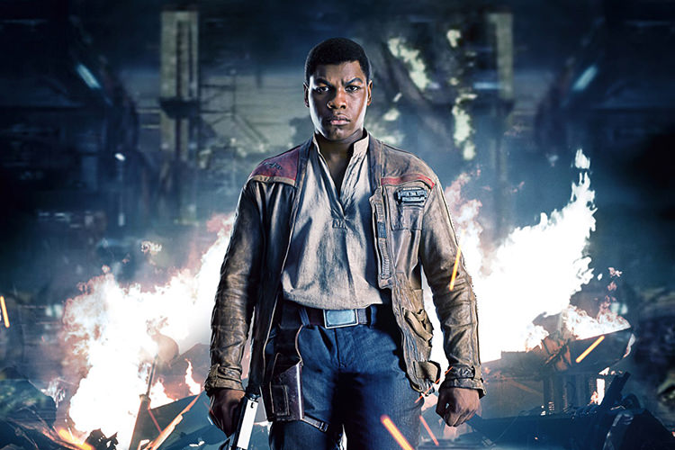 John Boyega in Star Wars: The Last Jedi