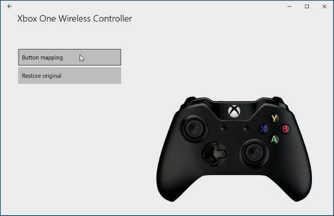 remap xbox one controller 4