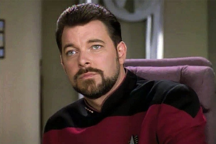 Jonathan Frakes in Star Trek