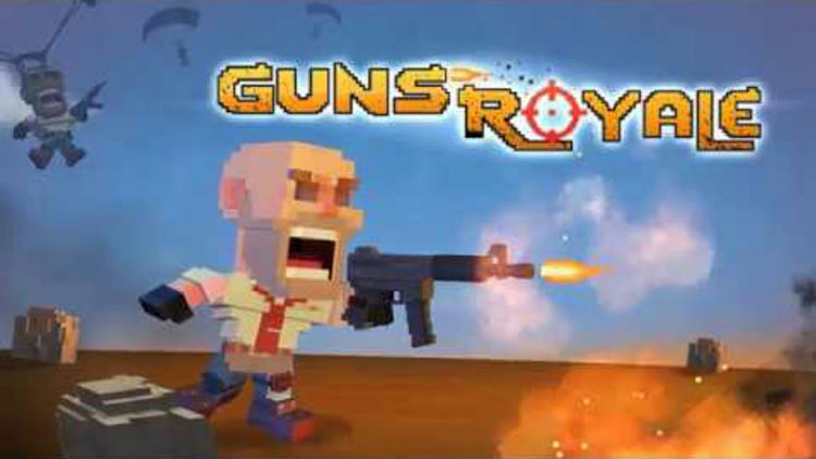 Guns Royale - Multiplayer Blocky Battle Royale