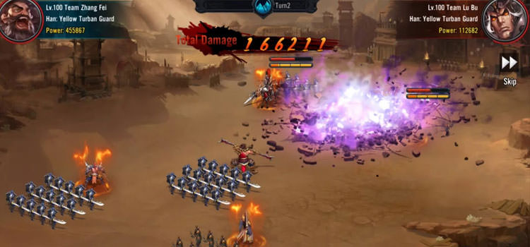 بازی Three Kingdoms: Infinity Wars