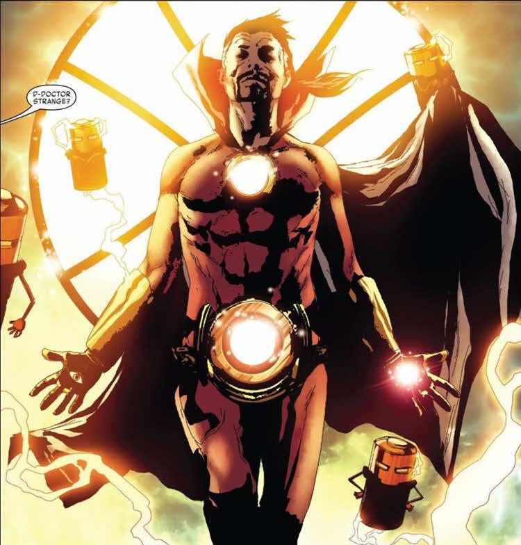 Doctor Strange - Iron man
