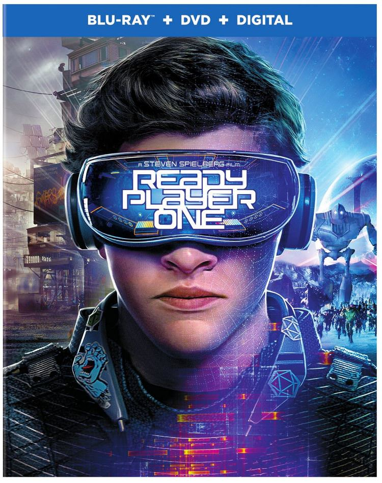 Ready Player One Bluray Box Art
