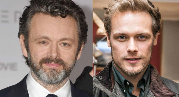 Sam Heughan and Michael Sheen
