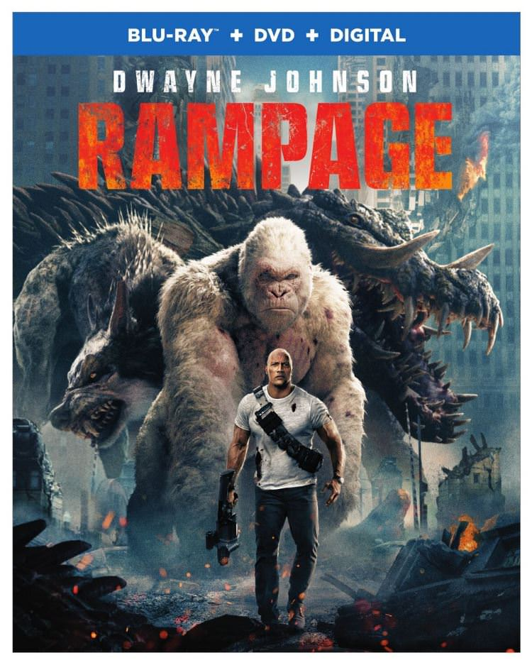 Rampage Bluray Cover