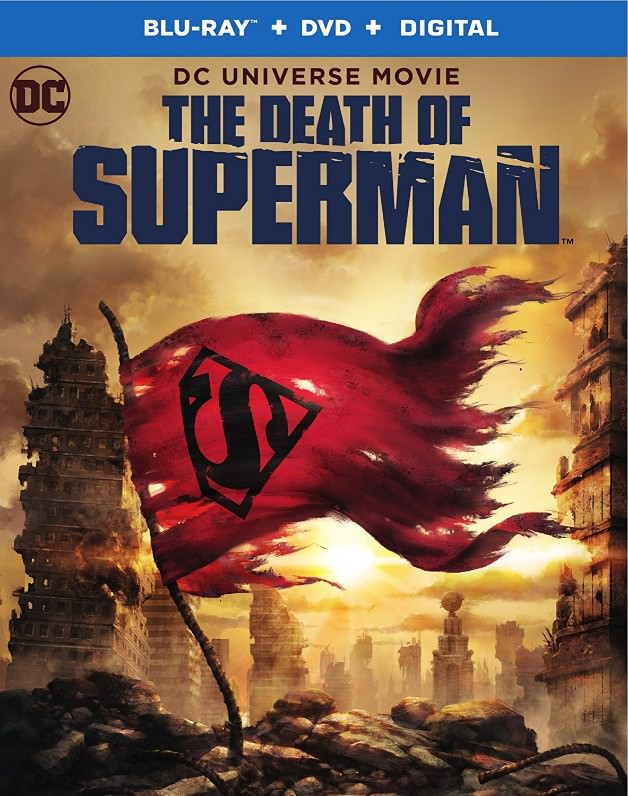 The Death of Superman Box Art