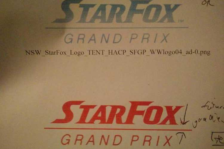 star fox grand prix leaked logo