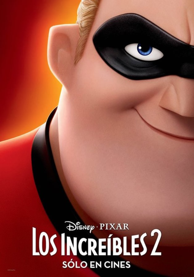 Incredibles 2 Character Posters