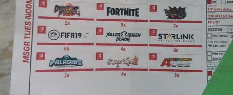 Fortnite E3 leak switch