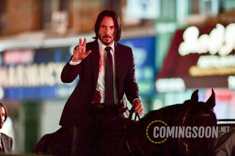 John Wick: Parabellum BTS Photo