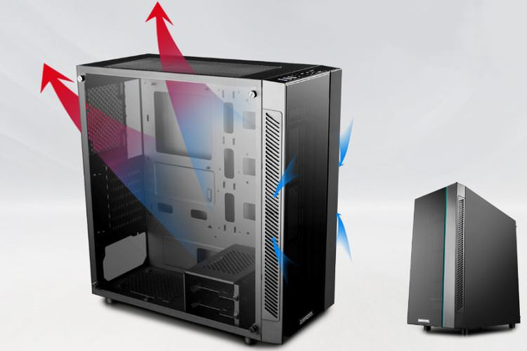 Deepcool MATREXX 55 Case Airflow