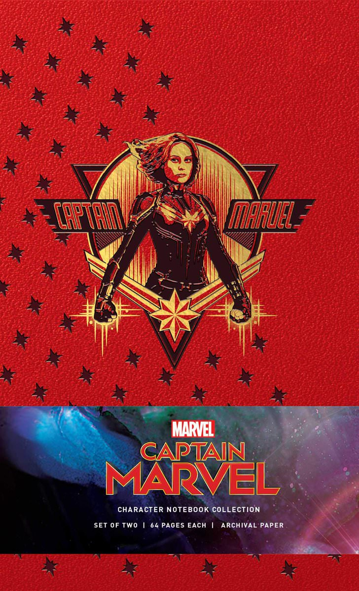 Captain Marvel Promo Art