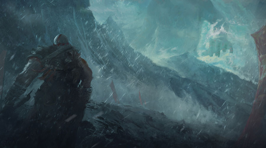 God of War Art