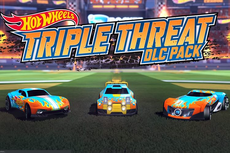 بسته الحاقی Hot Wheels Triple Threat بازی Rocket League معرفی شد