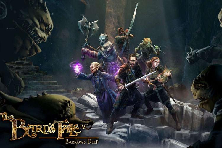 ویدیو جدید بازی The Bard's Tale IV: Barrows Deep با محوریت موسیقی متن آن