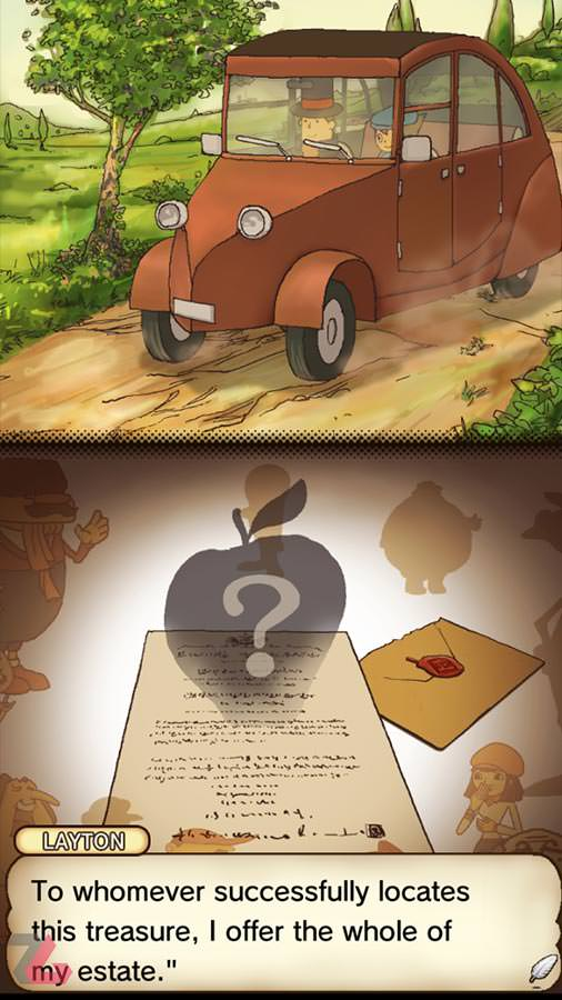 Professor Layton and the Curious Village hd