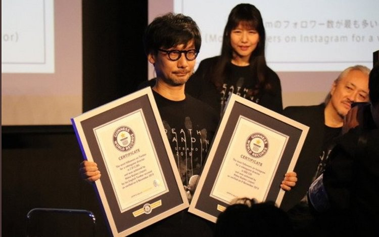 hideo-kojima-receives-guinness-world-records