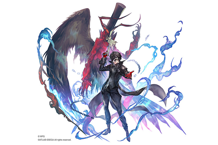 Persona 5 Royal X Another Eden