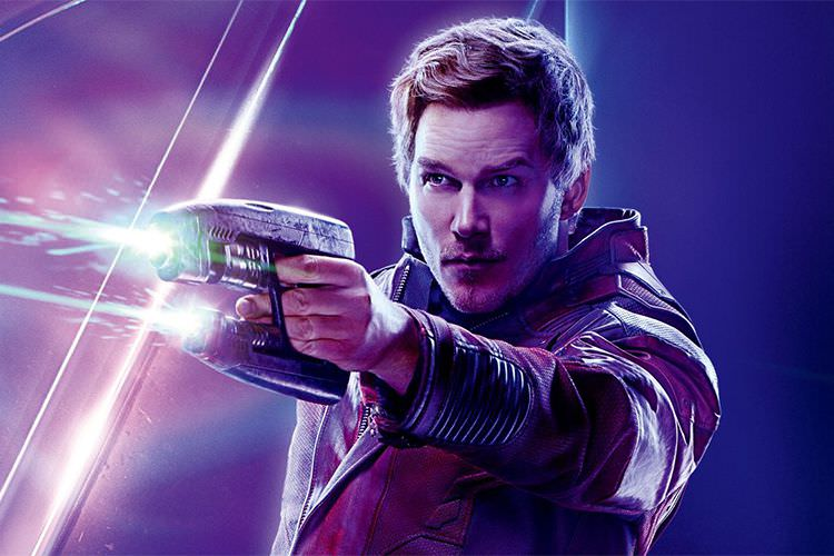 star lord in Avengers: Infinity War