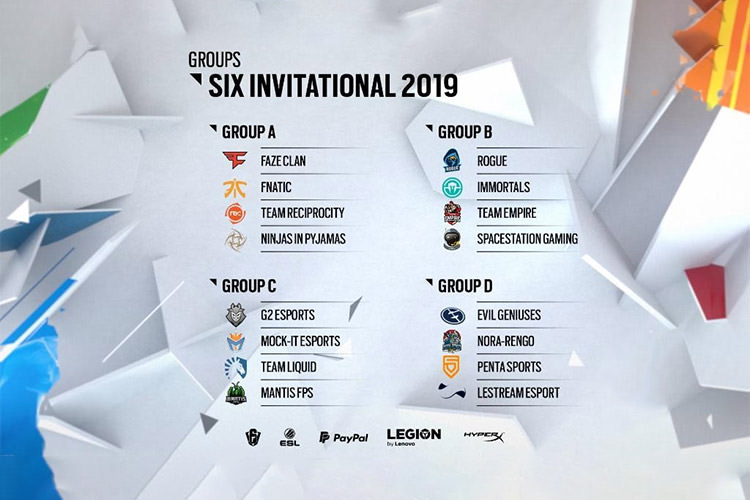 Rainbow Six Siege Six Invitational 2019 R6