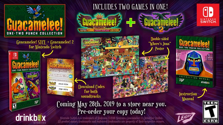 Guacamalee! One-Two Punch Collection