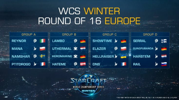 WCS Winter 2019 Starcraft 2