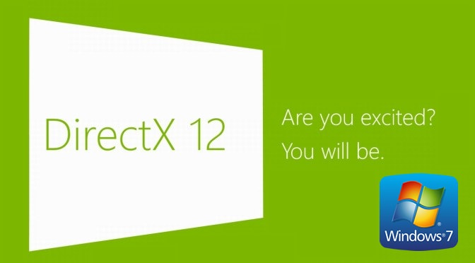 Direct X 12 in Windows 7